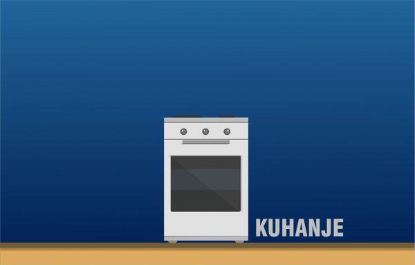 Rezervni deli za kuhalne plošče in pečice